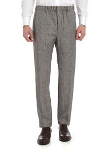"""Incotex - """"Venice"""" Prince of Wales trousers"""