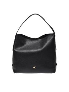 "Michael Kors - ""Griffin"" black shoulder bag"