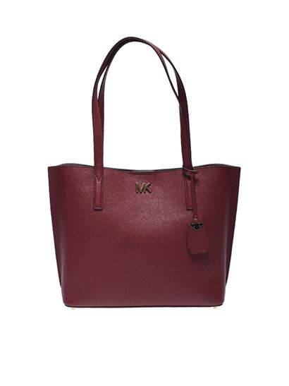 "Michael Kors - ""Ana"" red shoulder bag"