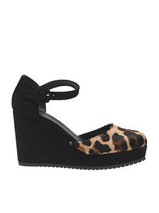 "Castaner - ""Coraima"" animalier wedge sandals"