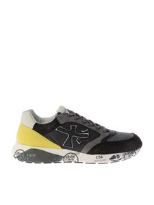 "Premiata - Grey ""Zac-Zac"" sneakers"