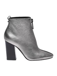 "Kendall + Kylie - Silver ""Reagan"" ankle boot"