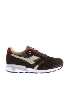Diadora Heritage - Dark brown sneakers