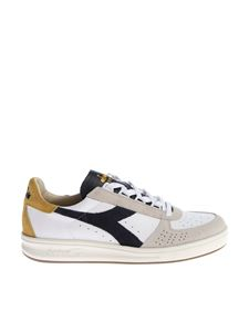 "Diadora Heritage - White and blue ""B.Elite S L"" sneakers"