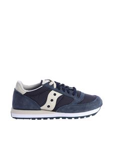 "Saucony - Blue ""Jazz Original"" sneakers"