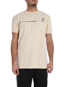 Kappa Kontroll - Beige t-shirt with branded stripes