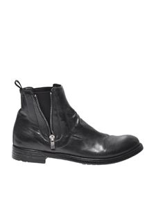 "Officine Creative - Black ""Hive"" ankle boots"
