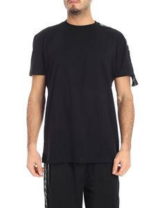 Kappa Kontroll - Black t-shirt with branded stripes