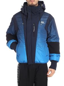 Kappa Kontroll - Faded blue down jacket