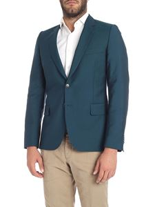 Paul Smith - Giacca due bottoni verde
