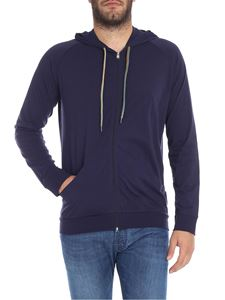 Paul Smith - Blue sweatshirt with logo