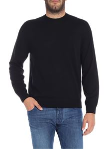 Paul Smith - Black merino wool sweater