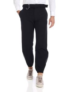 Paul Smith - Pantalone nero con zip laterali