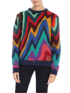 Paul Smith - Multicolor wool and mohair sweater