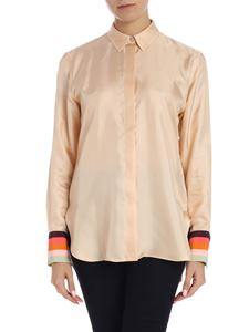 Paul Smith - Nude silk shirt