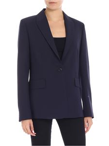 Paul Smith - Blue single-button jacket