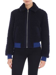 Paul Smith - Blue wool bomber