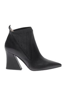 Ettore Lami - Black pointed ankle boots