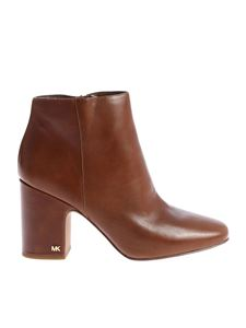 "Michael Kors - Brown ""Elaine"" ankle boots"