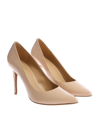 """Michael Kors - Nude """"Claire"""" pointed pumps"""