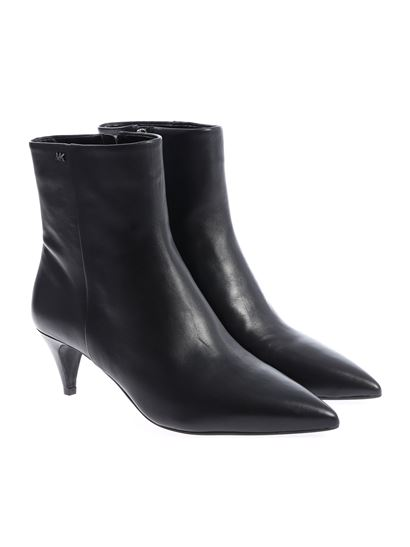 "Michael Kors - Black ""Blaine"" pointed ankle boots"