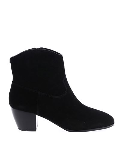 "Michael Kors - Black ""Avery"" ankle boots"