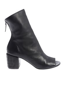 "Marsèll - Black ""Mabo Sabd"" open toe ankle boots"