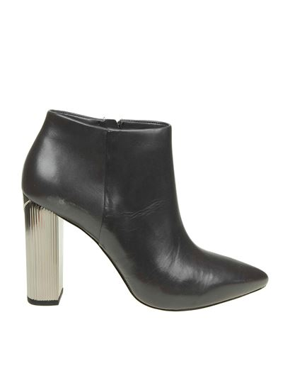 "Michael Kors - Anthracite ""Paloma"" ankle boots"