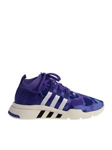 "Adidas Originals - Purple ""Eqt Support Mid Adv Pk"" sneakers"