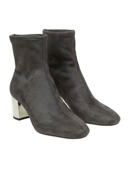"""Michael Kors - Anthracite """"Paloma"""" ankle boots"""