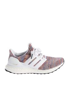 "Adidas - ""Ultra Boost"" white sneakers"