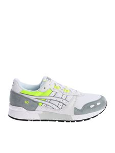 "Asicstiger - White and gray ""Gel-Lyte"" sneakers"