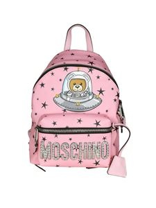 "Moschino - Zaino rosa ""Teddy Bear"""