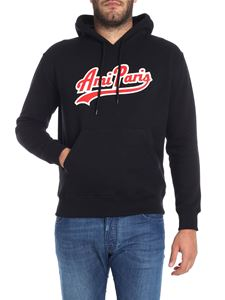 Ami Alexandre Mattiussi - Black sweatshirt with logo