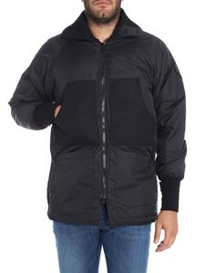 JUNYA WATANABE COMME DES GARCONS - Black technical fabric down jacket