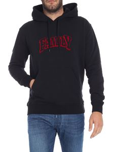 Ami Alexandre Mattiussi - Black sweatshirt with print