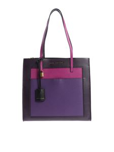 "Marc Jacobs  - ""The Grind"" colorblock shoulder bag"