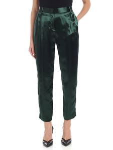 Paul Smith - Green satin trousers