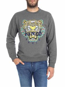 "Kenzo - Gray ""Dragon Tiger"" sweatshirt"