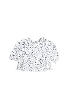 "Bonpoint - White cherry printed ""Jojoba1"" shirt"