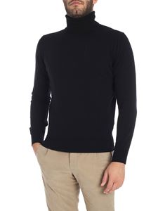 Kangra Cashmere - Black turtleneck sweater