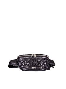 """Karl Lagerfeld - """"K/Kuilted"""" black pouch"""