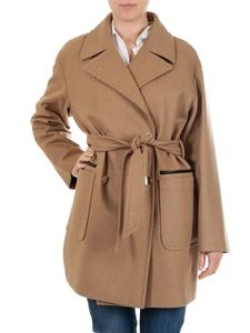 Fay - Double-breasted wool cloth coat