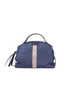 """Borbonese - """"Sexy Small"""" blue shoulder bag"""