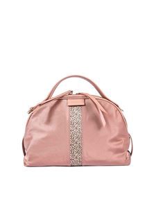"""Borbonese - """"Sexy Small"""" pink shoulder bag"""