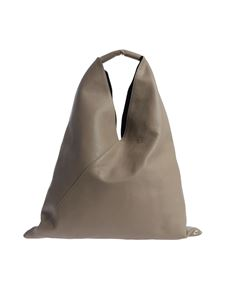 "MM6 by Maison Martin Margiela - Taupe ""Japanese"" shoulder bag"