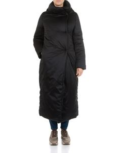 Herno - Black long down jacket