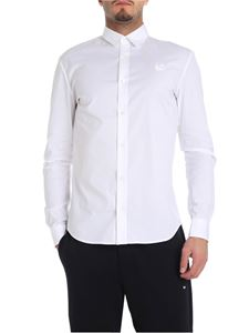 McQ Alexander Mcqueen - White shirt with swallow detail
