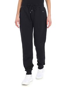 McQ Alexander Mcqueen - Black trousers with swallow patch