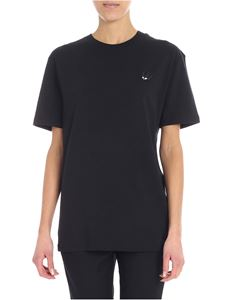 McQ Alexander Mcqueen - Black T-shirt with patch